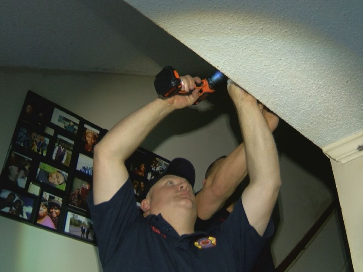 Neighborhood Strong, Lufkin FD team up to provide smoke detectors to qualifying homes