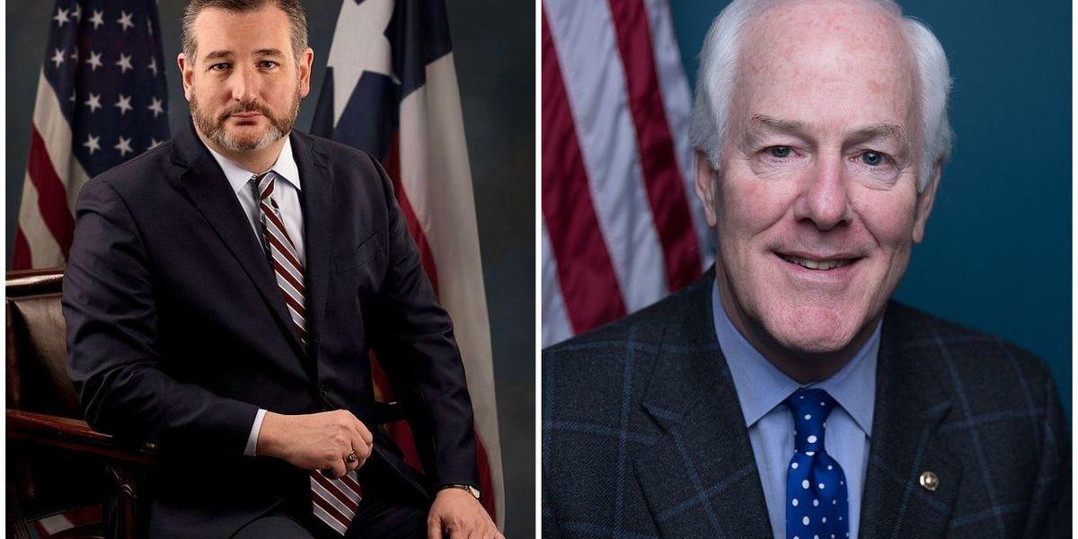 Cornyn, Cruz join GOP colleagues in successful acquittal of Trump