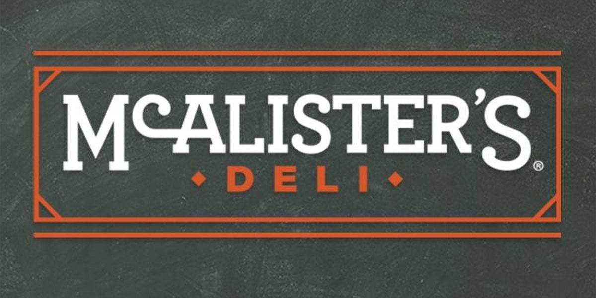 McAlister's Deli coming to Lufkin