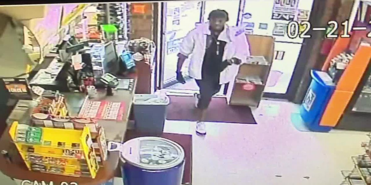 RAW: 2 set on fire during store robbery, suspect at large