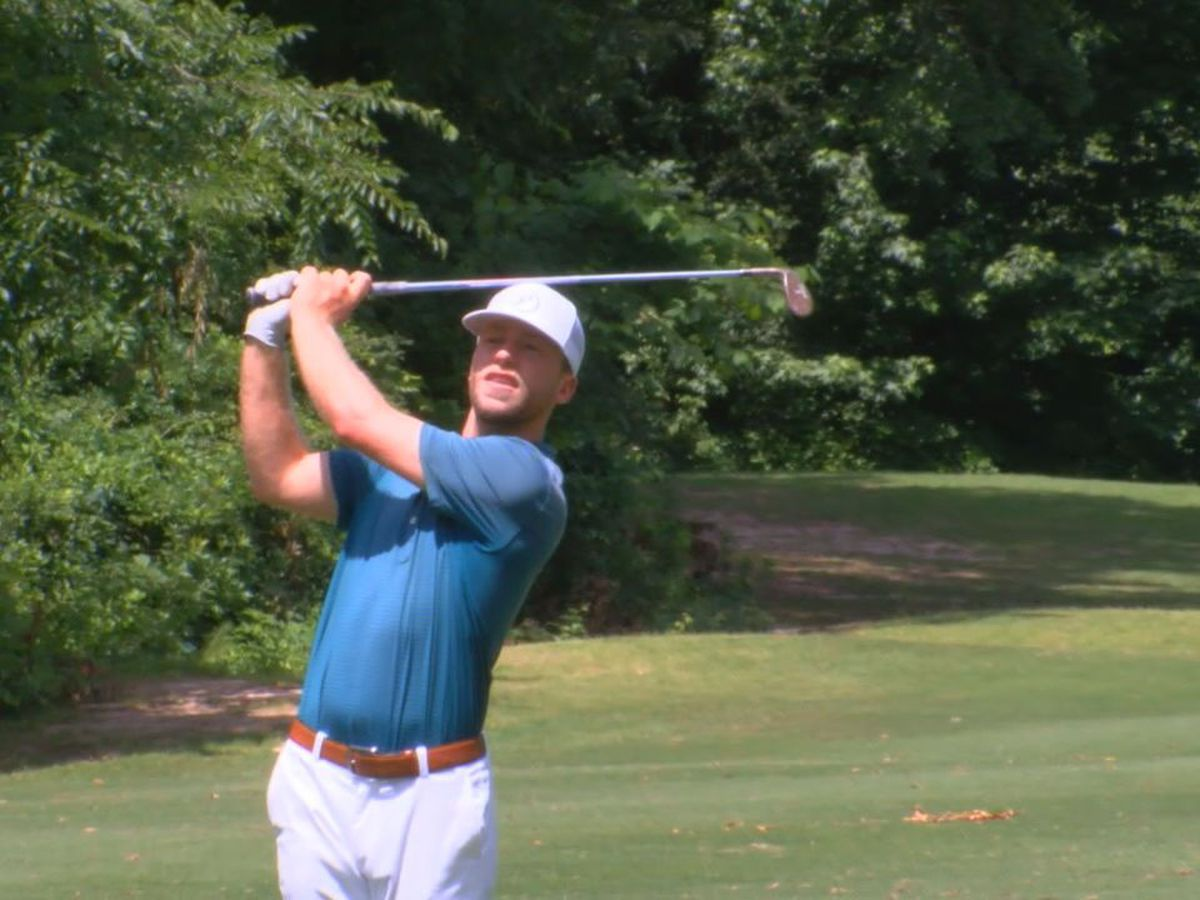 Sam Fidone making the best of tough COVID-19 situation on professional golf journey