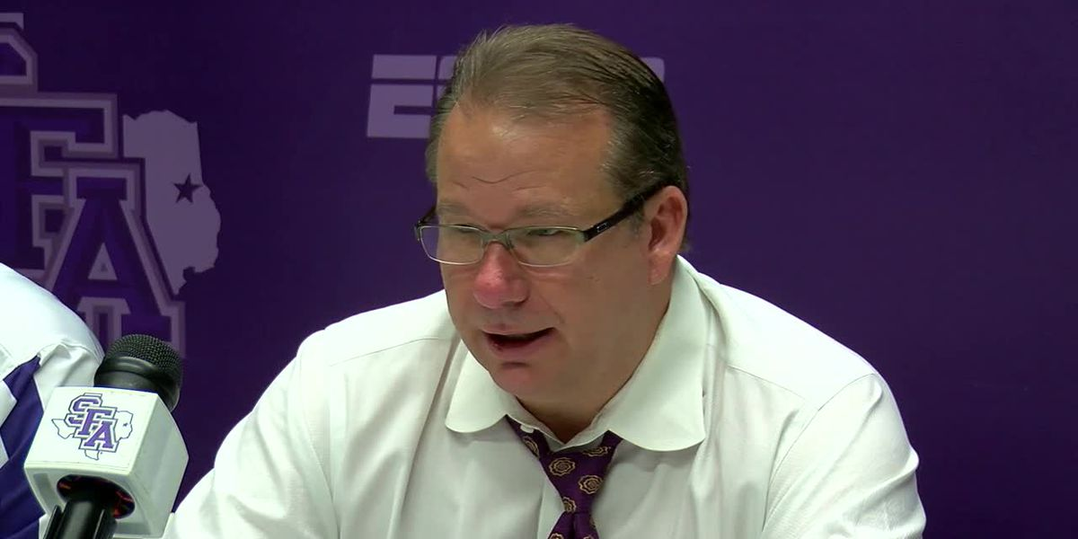 SFA Press Conference following 89-80 win over Niagara