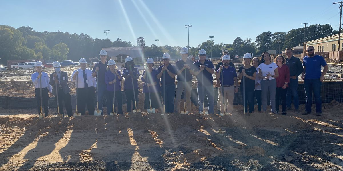 Lufkin ISD breaks ground at Lufkin Middle School and new multipurpose facility