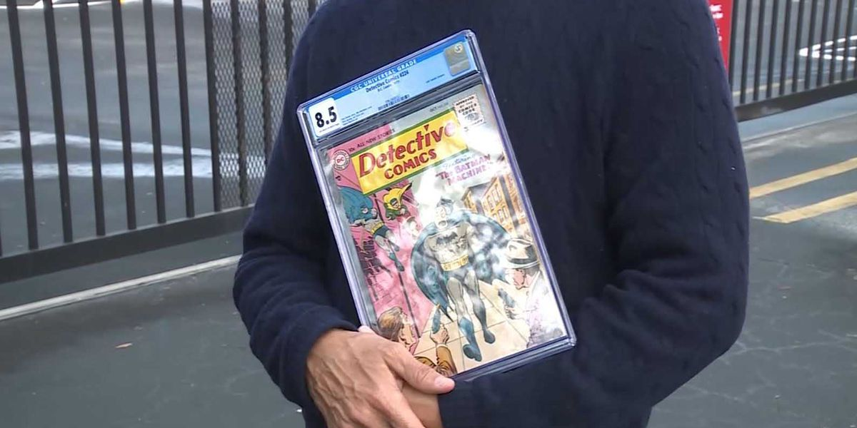 Florida man wants back $1.4 million comic collection stolen from his storage unit