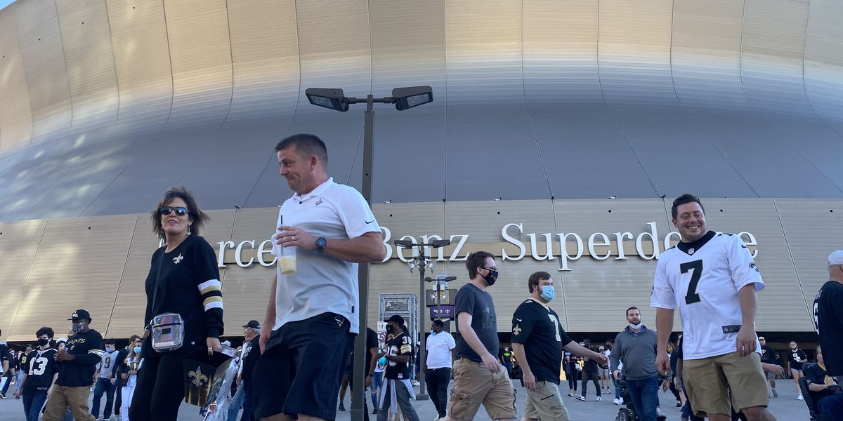 Cantrell 'hopeful' for large-scale Saints games in Superdome