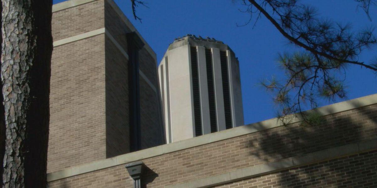 SFA bells toll in honor of former president George H.W. Bush