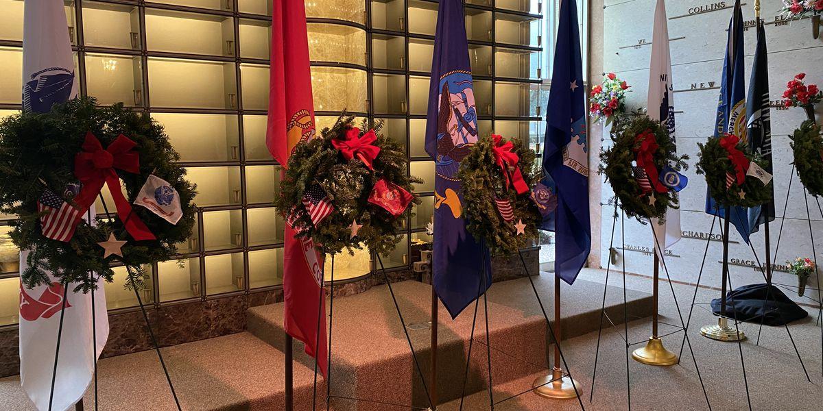Lufkin's Wreaths Across America ceremony held inside chapel due to weather