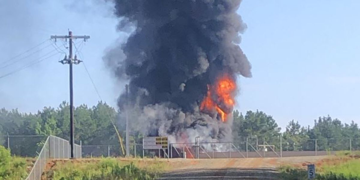 Industrial fire under investigation in Nacogdoches County