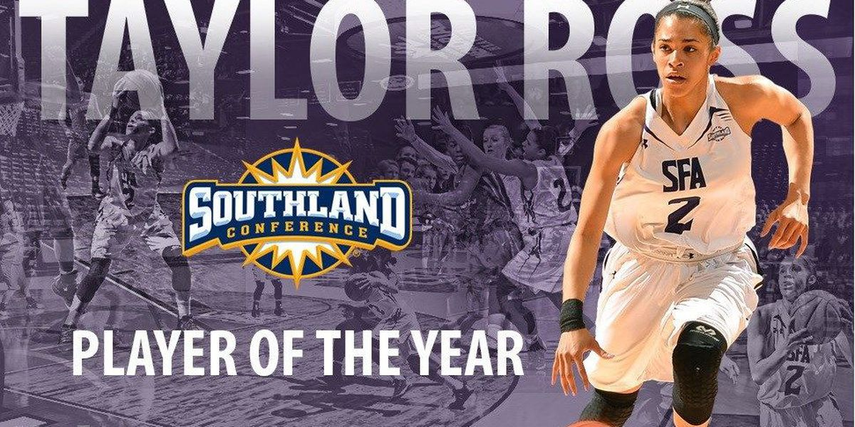 Taylor Ross chosen as Southland Conference Player of the Year