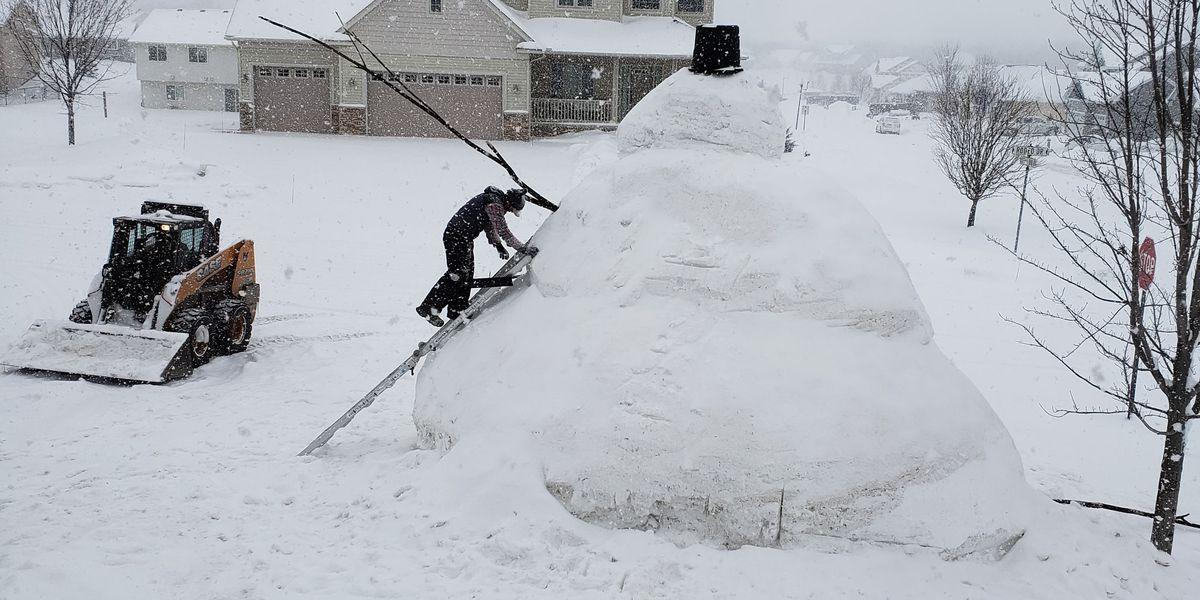 Minnesota snowman