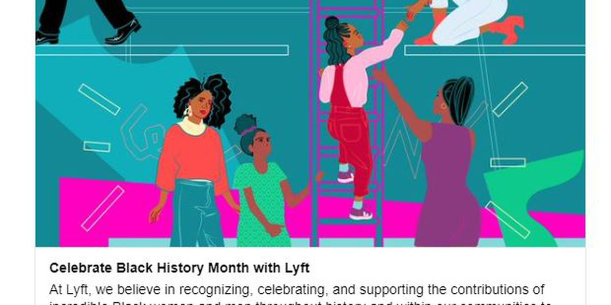 Lyft offers free ride initiative for Black History Month