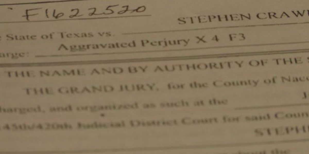 Indictment states Nacogdoches County chief deputy lied on stand about SFA degree