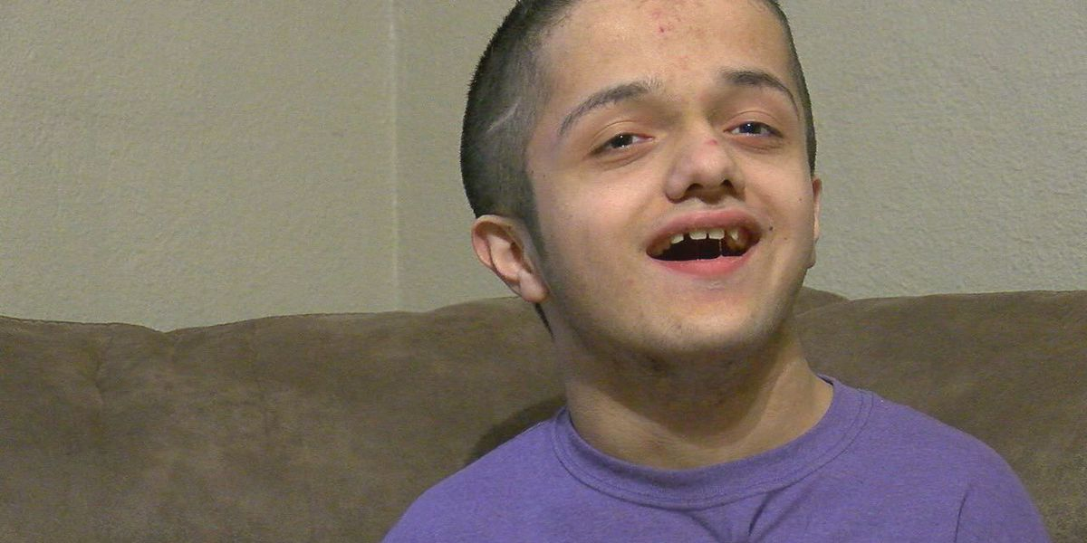 Nacogdoches teen defying the odds and bringing smiles to the faces of those he meet