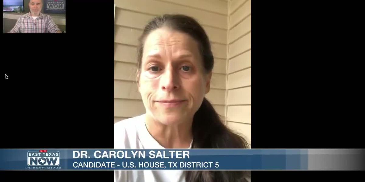 WATCH: Dr. Carolyn Salter discusses campaign for U.S. House seat, Texas Seat 5