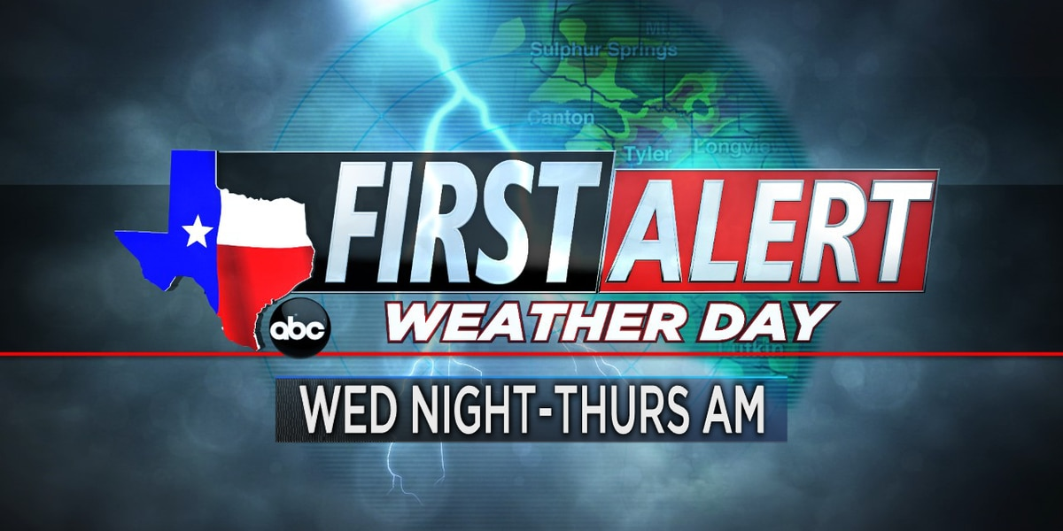 First Alert Weather Day: Cold front could trigger strong to severe storms Wednesday night into Thursday morning