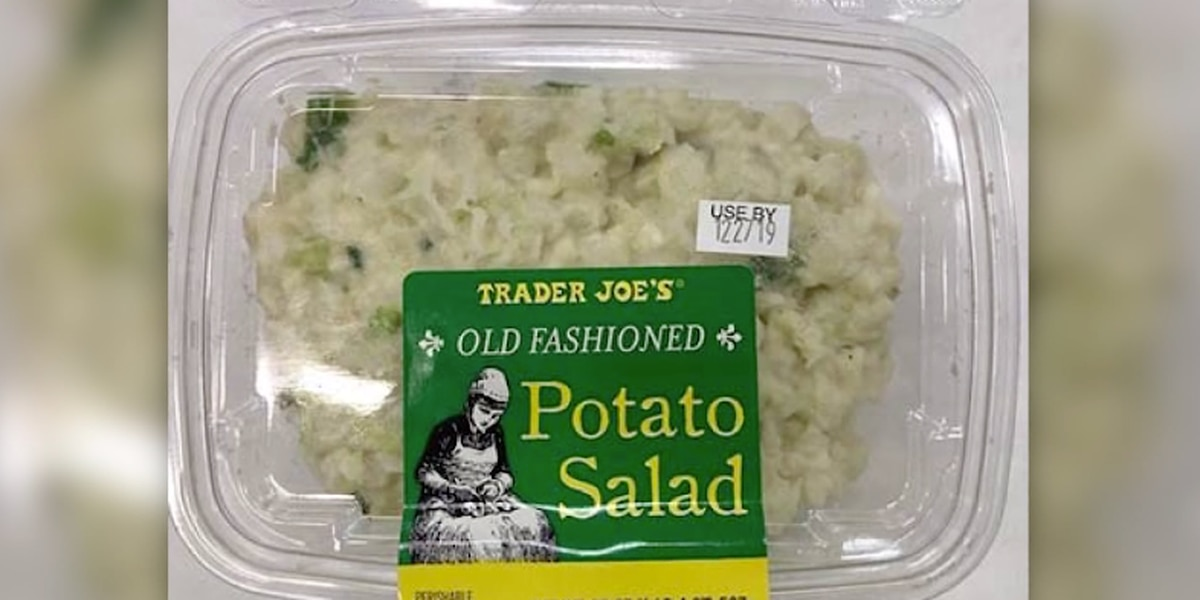 Trader Joe's recalls potato salad, egg salad over listeria risk