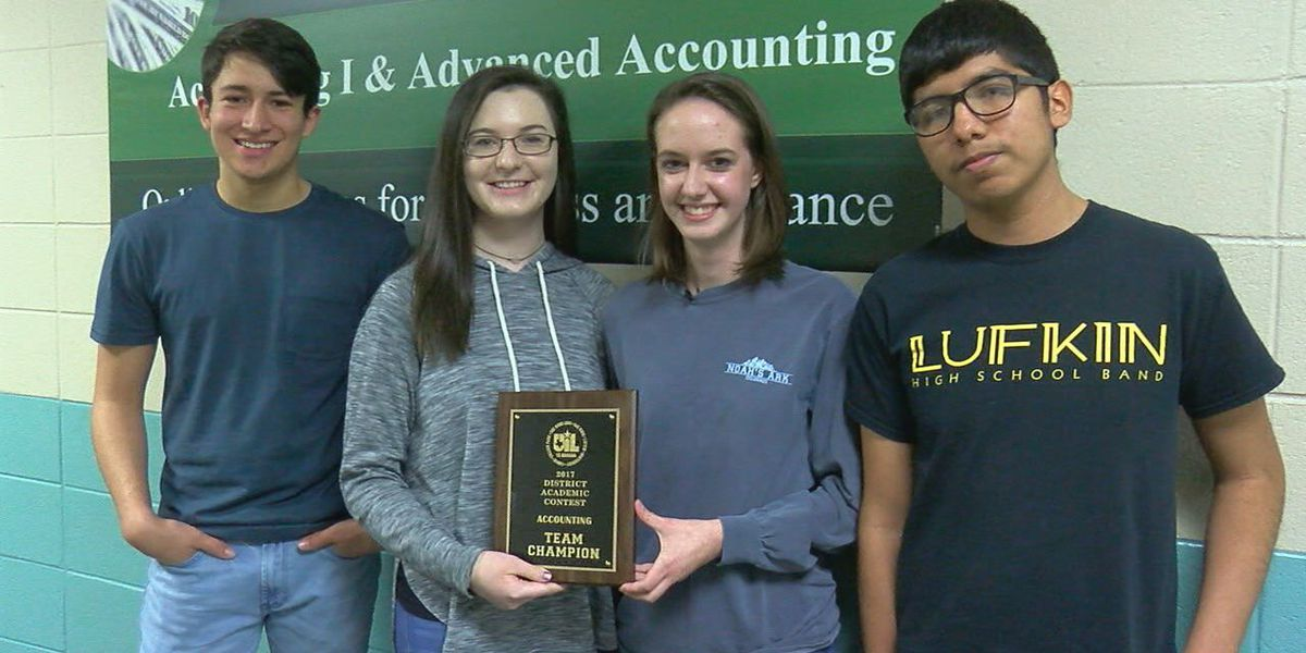 Lufkin ISD UIL accounting team continues win streak, heads to state