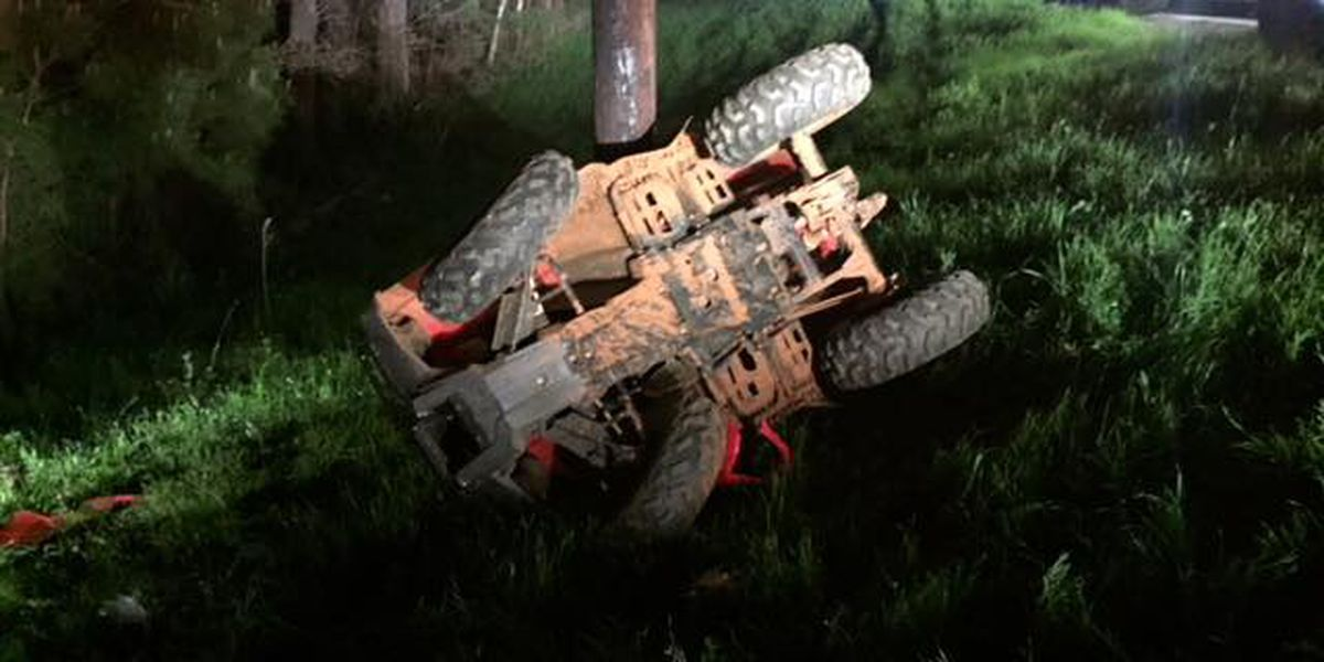 ATV wreck in Nacogdoches County injures 2 people