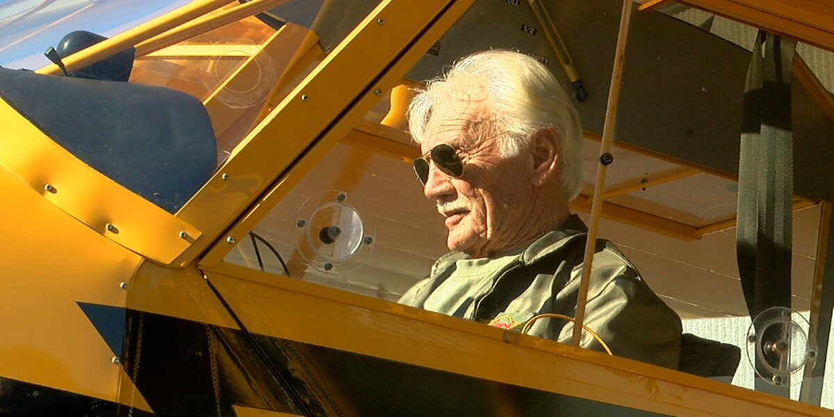 Nacogdoches pilot celebrates 50 years since first solo flight