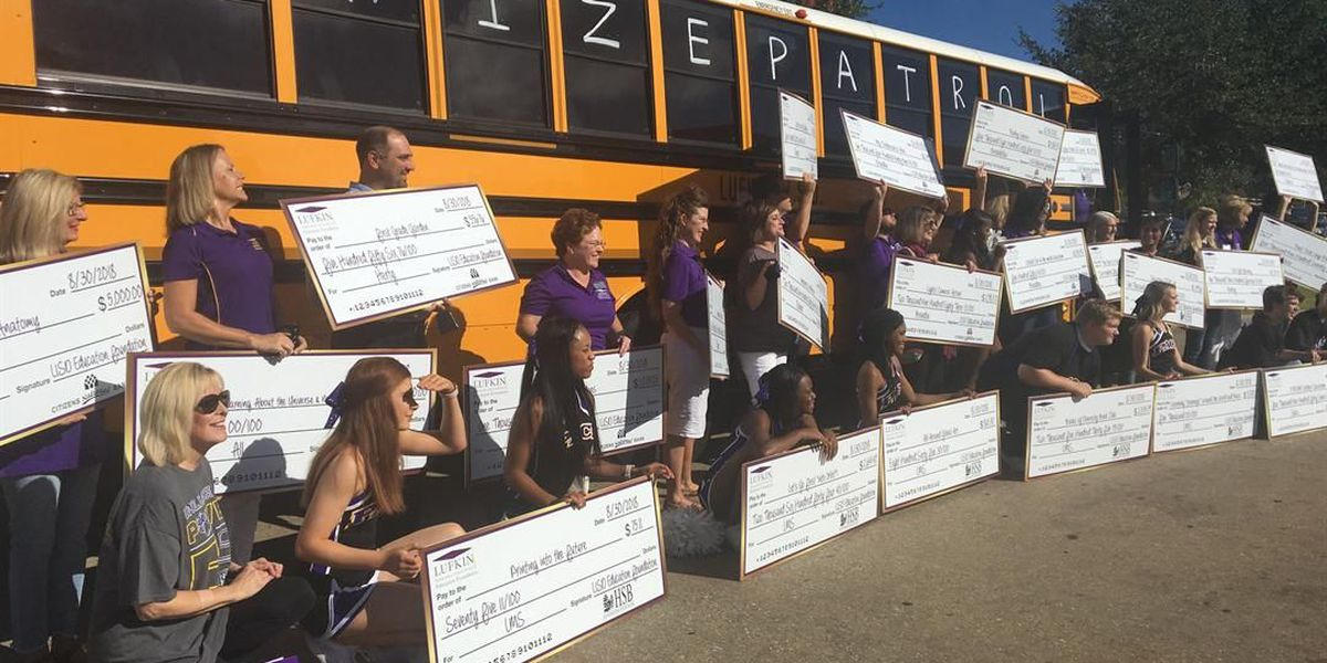 Lufkin Education Foundation surprises teachers with grants for innovative projects