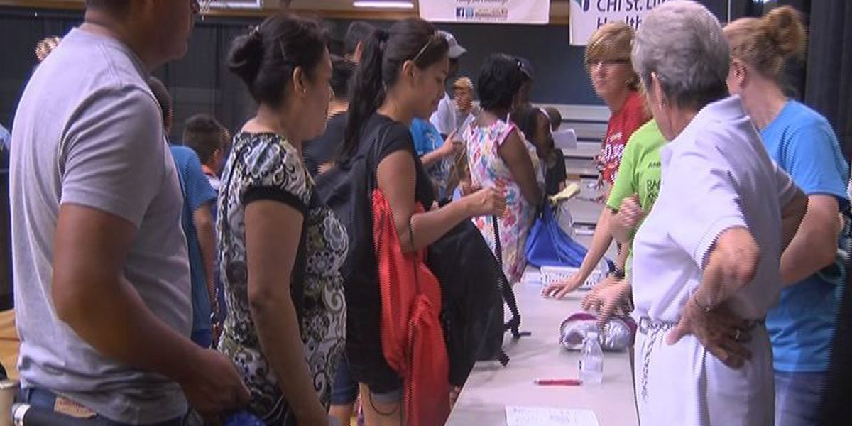 Angelina County parents grateful for Back to School Bonanza