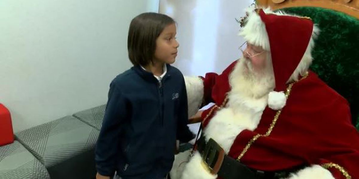 East Texas children's letters to Santa including heartfelt requests