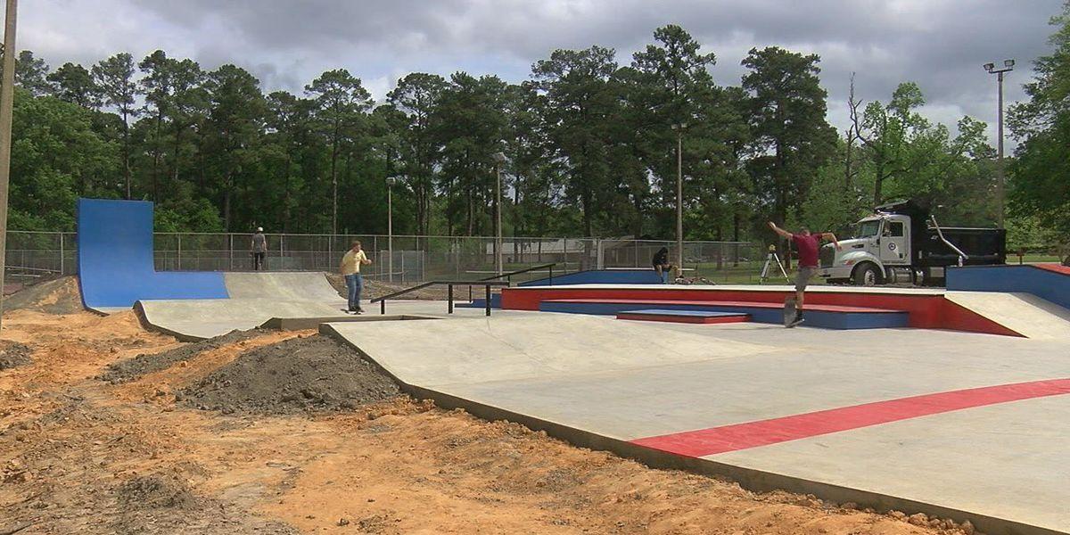 Lufkin Skate park nearing an opening date