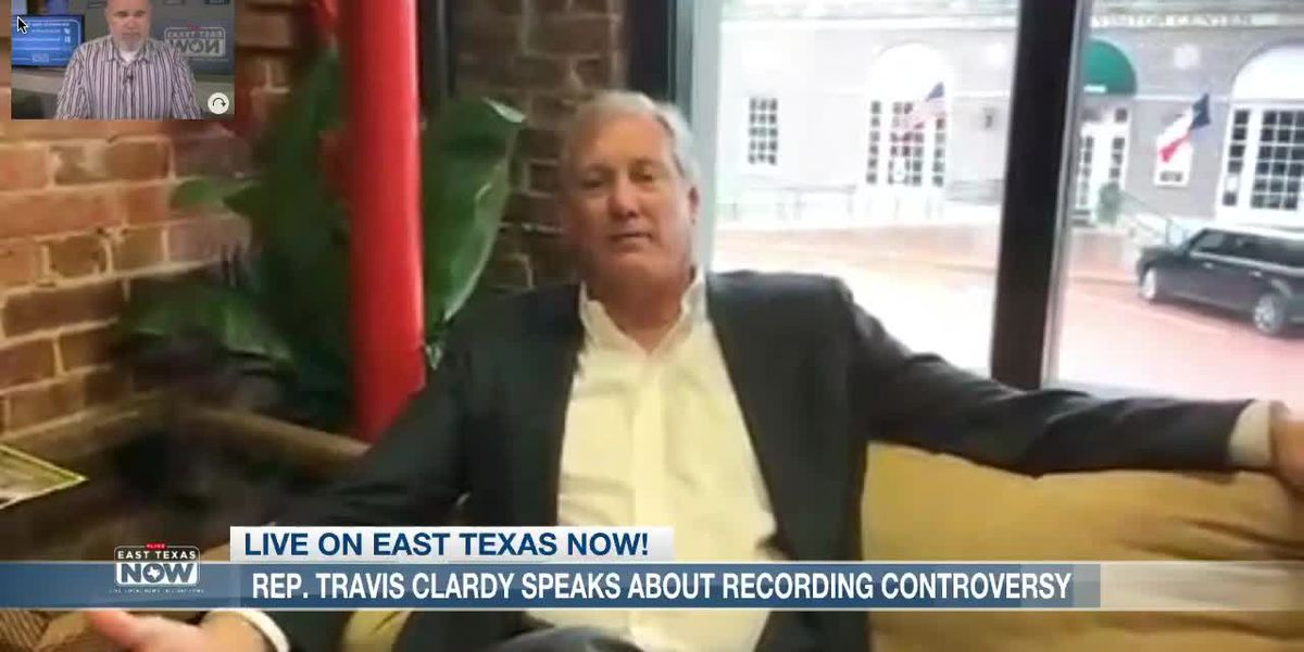 VIDEO: Rep. Travis Clardy discusses House turmoil, secret recording