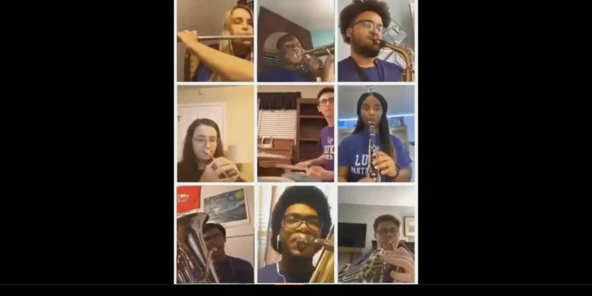 WATCH: Panther Band students perform at virtual SBOE meeting