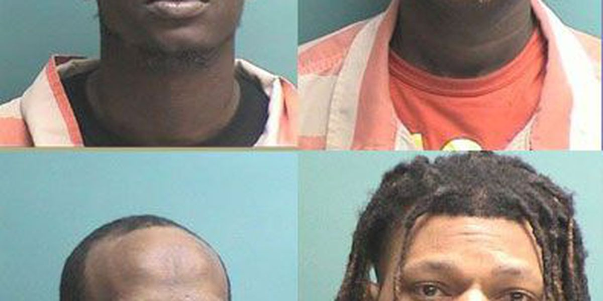 Nacogdoches PD traffic stop results in 4 drug arrests, seizure of weed, THC