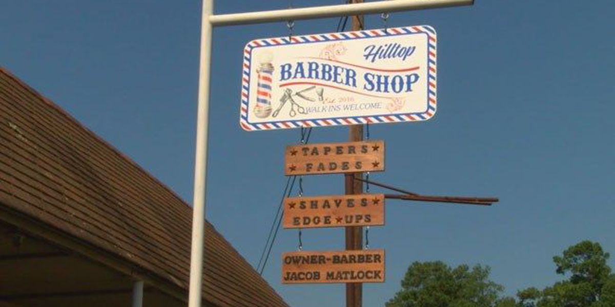 Cushing barber shop features ambiance, old-school customer service