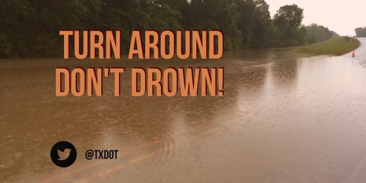 ALERT: Water reported over several Angelina County roadways