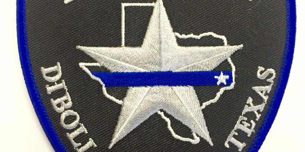 Diboll Police patch with scripture reference nixed