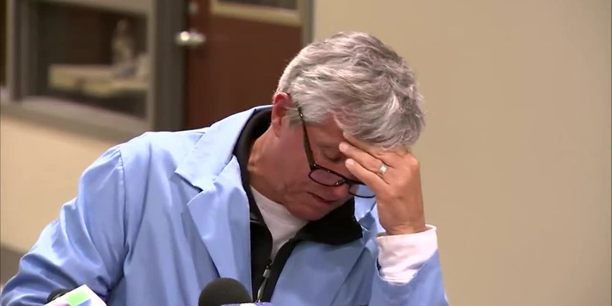 Doctor speaks about Chicago hospital shooting victims, gets emotional