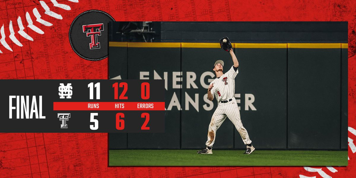 #3 Red Raiders fall to Mississippi State