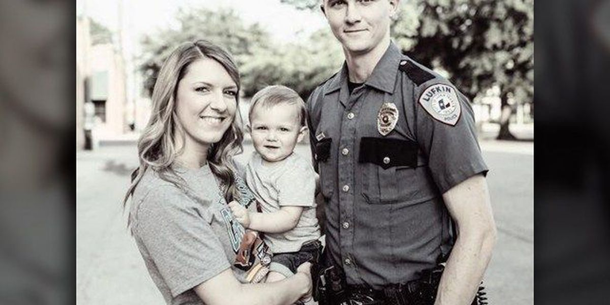 Lukfin Police Department raising money for officer, wife diagnosed with cancer