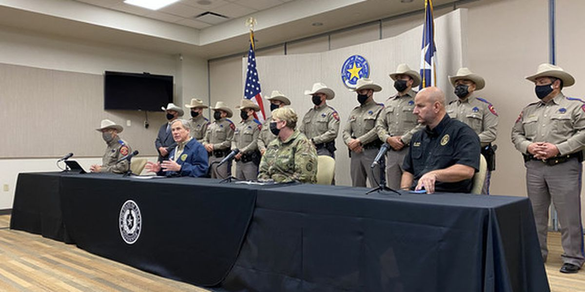 Gov. Greg Abbott gives update on 'Operation Lone Star' from the Texas-Mexico border