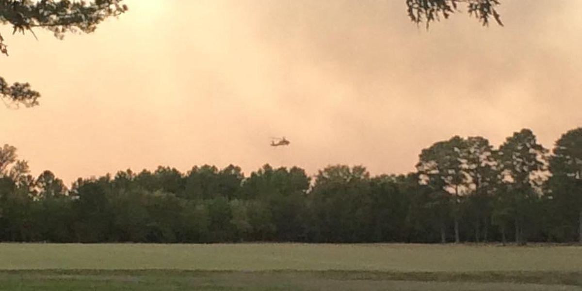 Barnum Loop area evacuated after fires in Corrigan