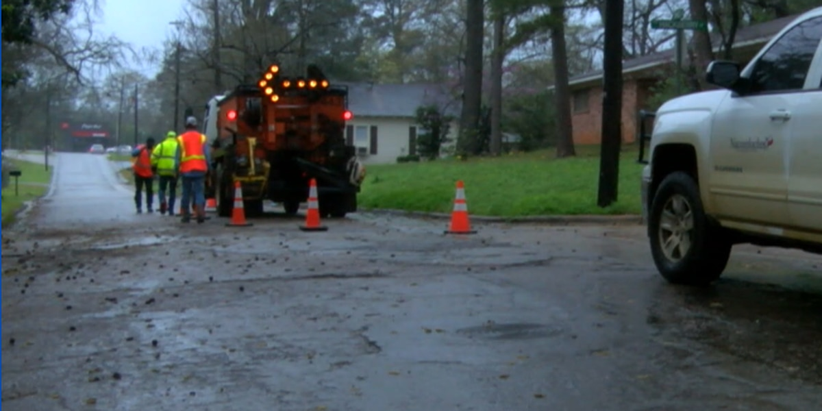 City report requests repavement of 6 Nacogdoches streets, rebuilding of another