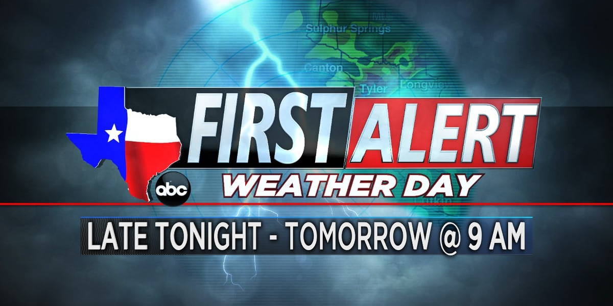 First Alert Weather Day: Strong Pacific cold front heading toward ETX