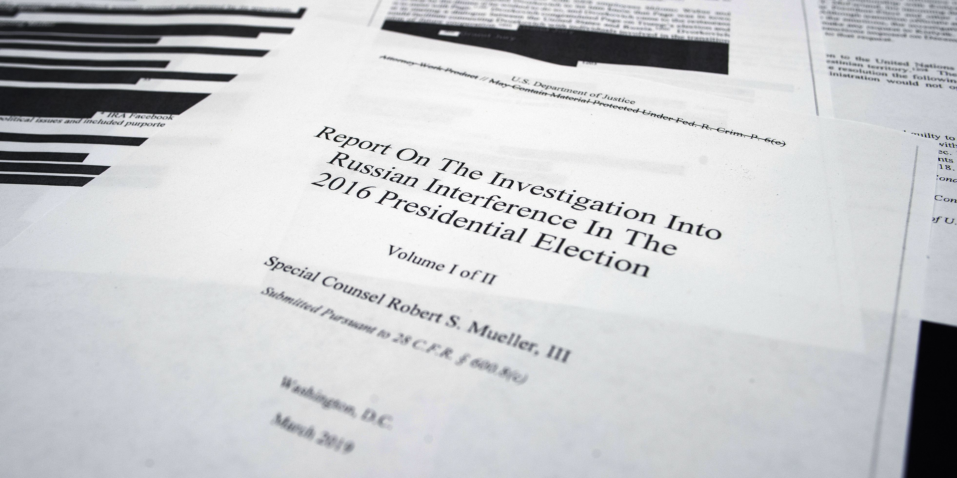 Trump tried to choke Russia probe, oust Mueller, report says
