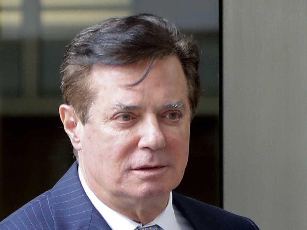 Paul Manafort faces more than 19 years in prison, court filing says
