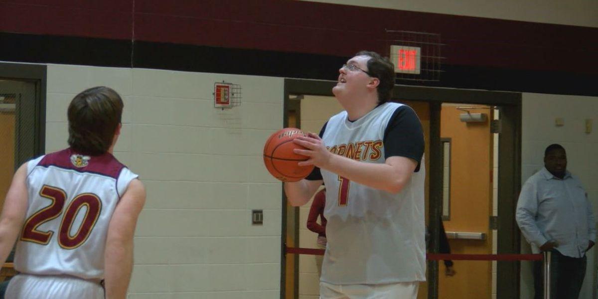 Hudson's Justin Forrest redefines the measure of a basket