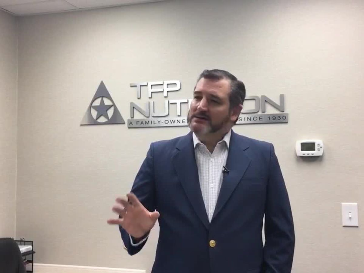 Ted Cruz visits Lufkin, Nacogdoches; talks national state of emergency, Democratic opponents