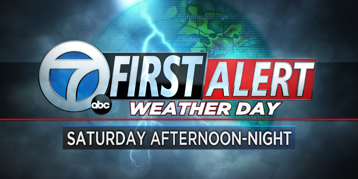 Isolated storms possible late with Saturday's First Alert Weather Day