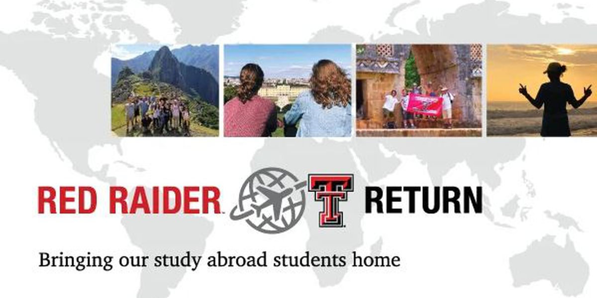 Texas Tech asking for help bringing 100+ study-abroad students home