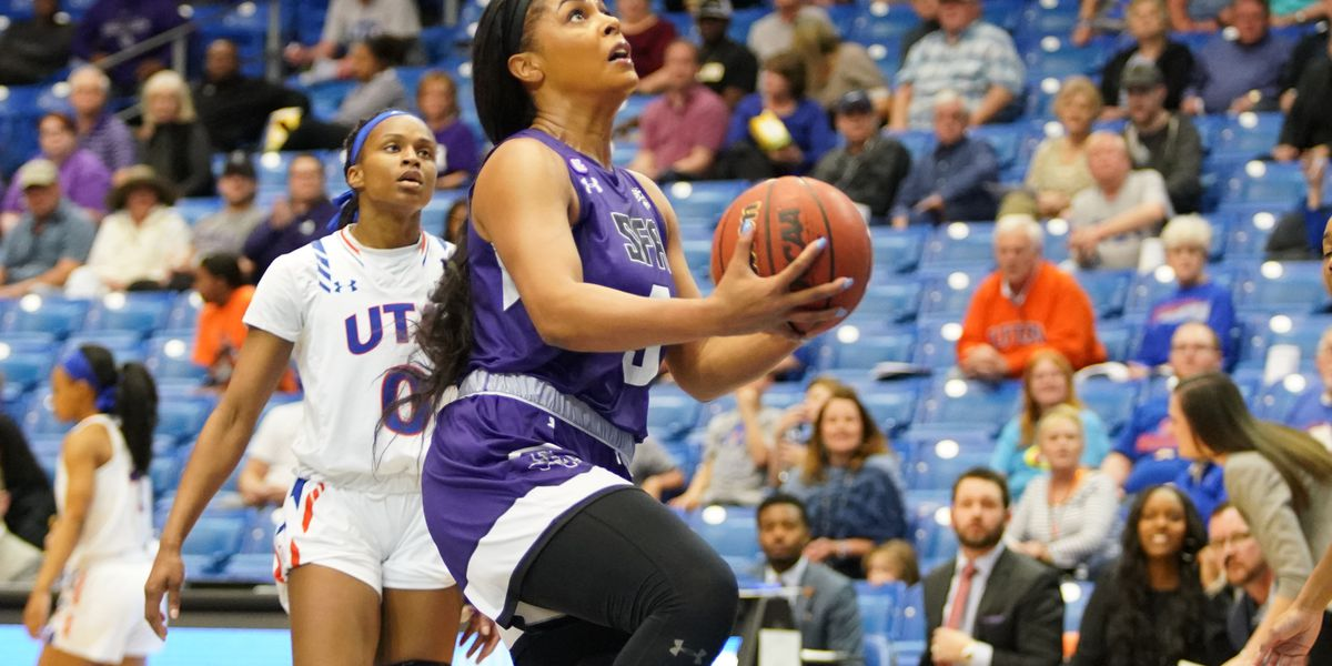 SFA shooting goes cold as UTA pulls out 60-54 victory in WNIT