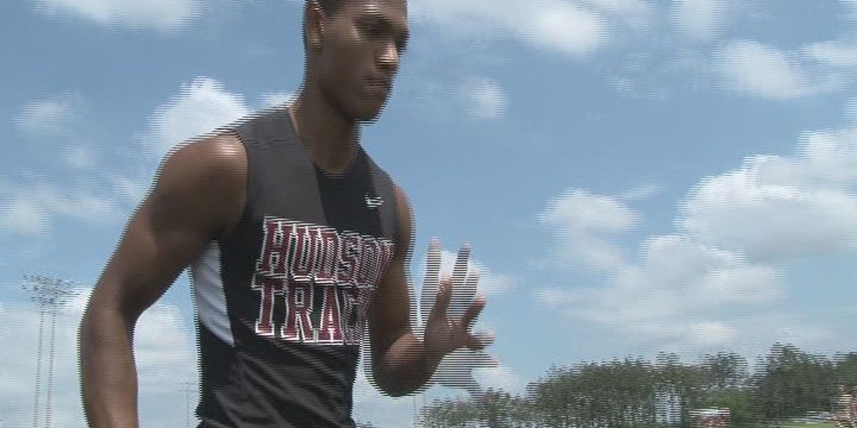 Practice, patience and family fueled Hudson sophomore to gold at state track meet