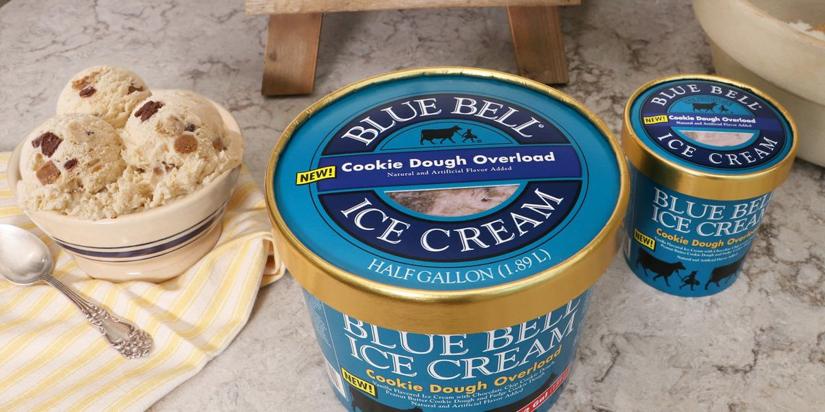 Blue Bell releases new flavor for cookie dough lovers