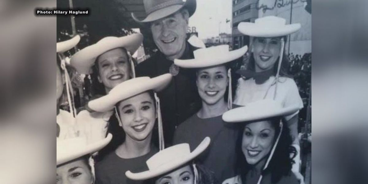 Lufkin woman shares story of meeting President George H.W. Bush at Houston Livestock Show